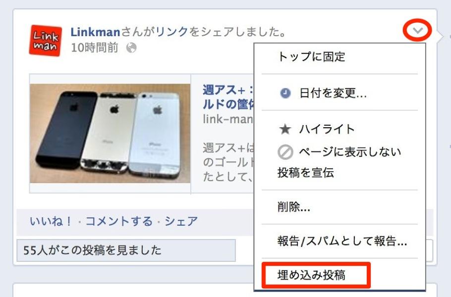 Facebookumekomi