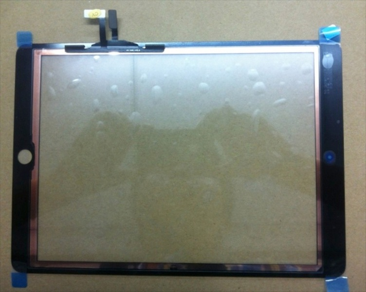 Macfixit ipad 5 digitizer rear