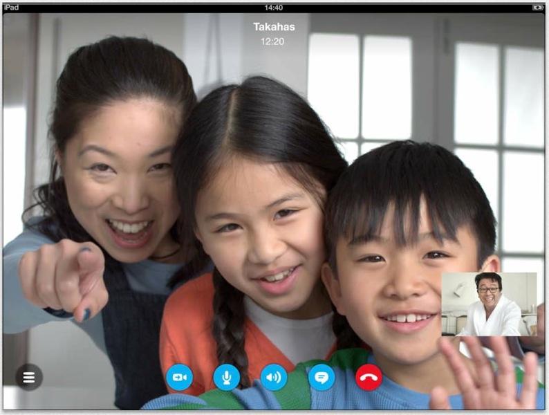 Skypeforipad