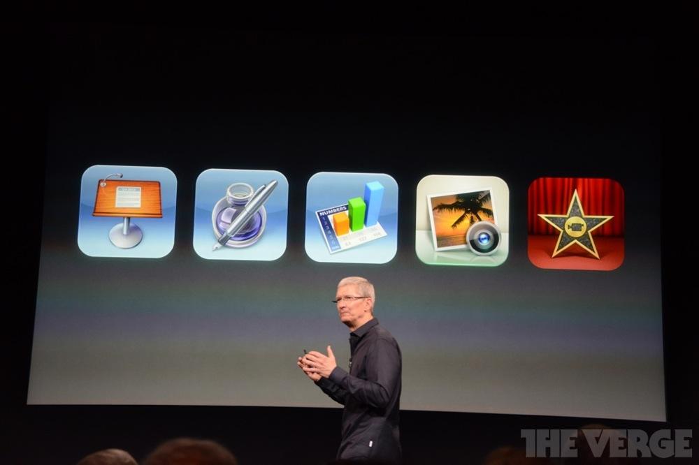 iWorkとiPhoto、iMovieアプリの無料提供は、9月1日以降にiOSデバイスを購入したユーザーが対象