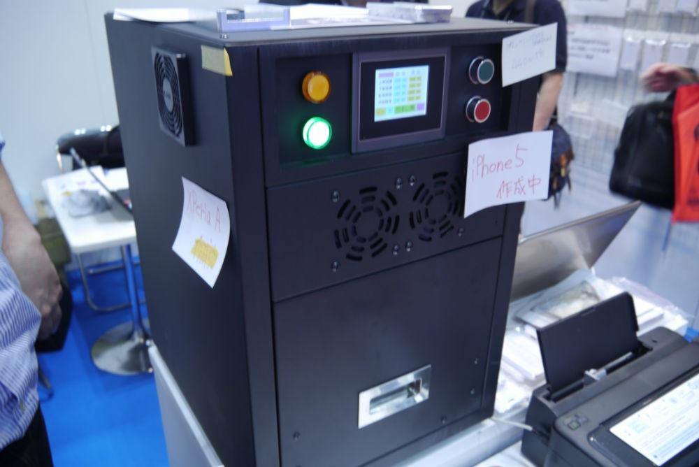 ギフト・ショー秋2013レポート:シーガル、プリクラ感覚でiPhone用カバーを作れる3D転写システムを紹介