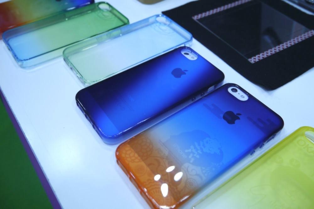 ギフト・ショー秋2013レポート:NIDEK、コーティング技術を使ったiPhone用TPUケースなどを紹介