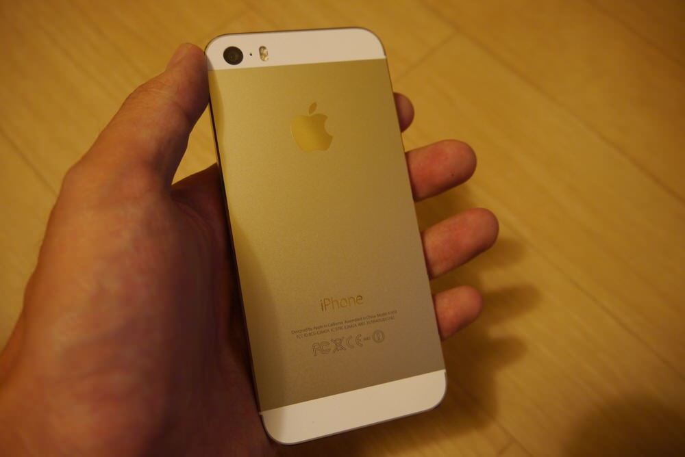 IPhone5s gold 06