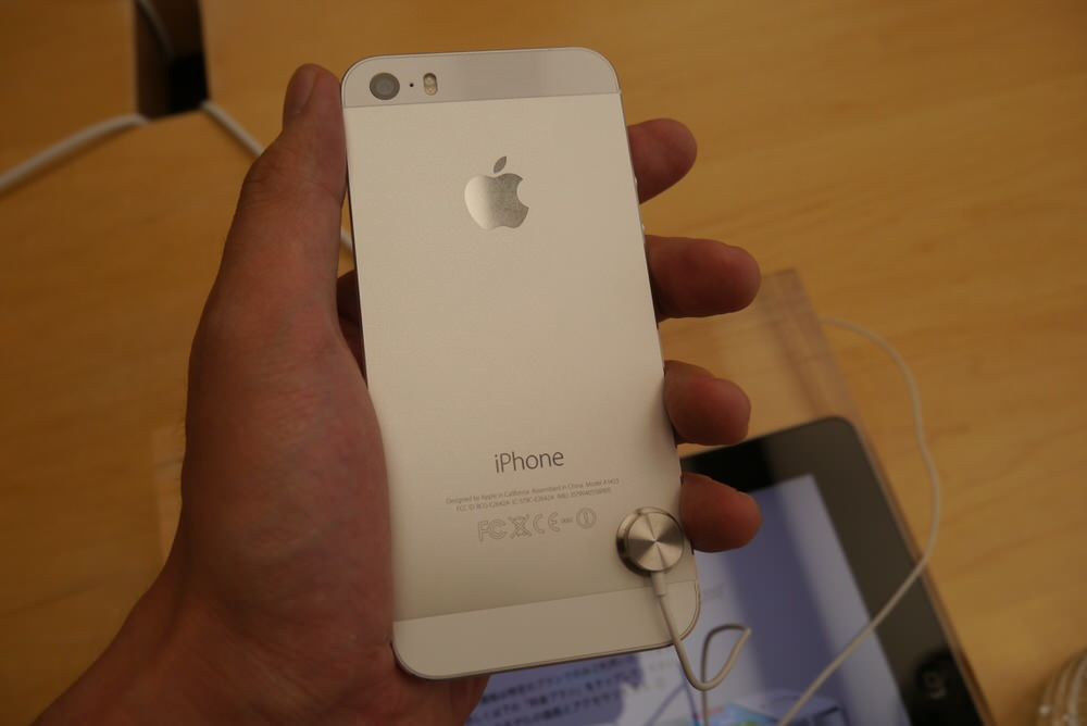 IPhone5s gold 10