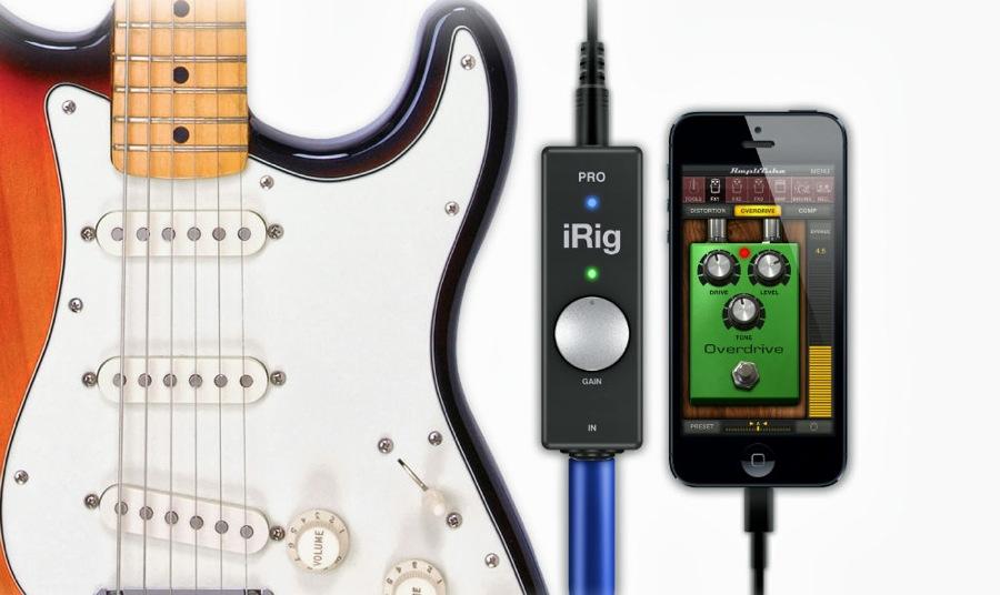 IK Multimedia、iPhone、iPad、iPod touch、Mac対応のユニバーサル・オーディオMIDIインターフェースの「iRig PRO」を発表