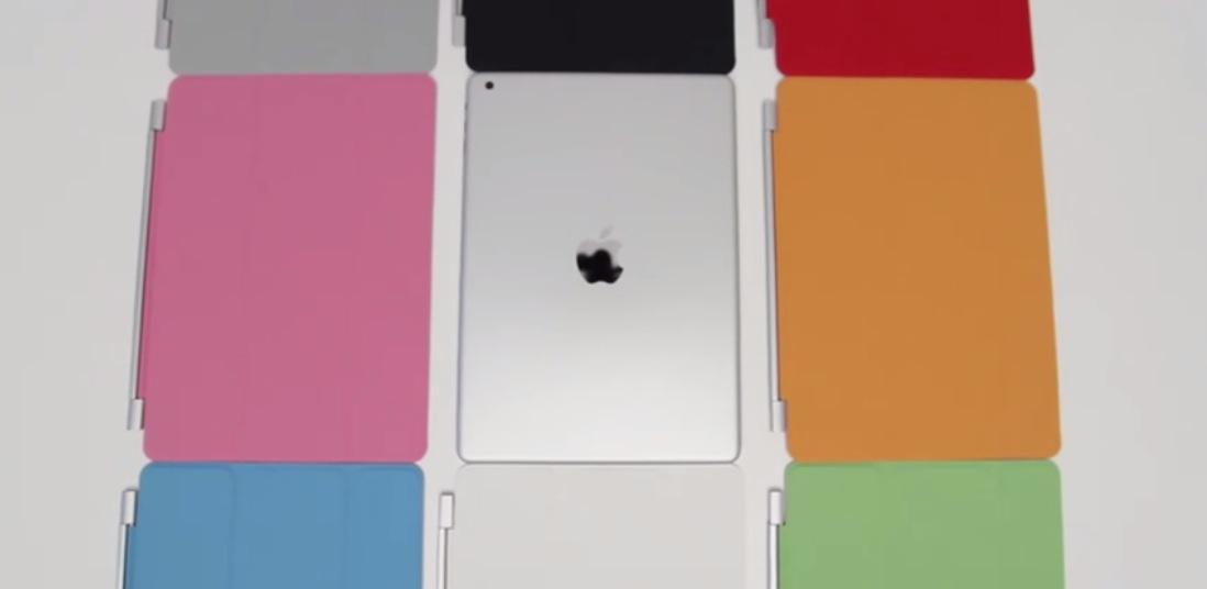 【更新】「iPad(第5世代)」向けSmart Coverのリークムービー!?