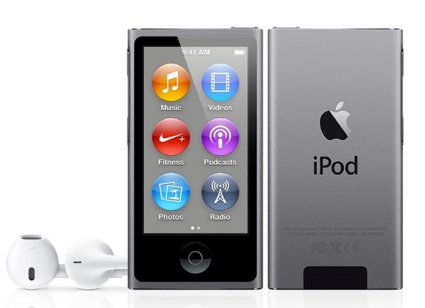 Apple、「iPod touch(第5世代)」と「iPod nano」「iPod shuffle」に新たなカラー「スペースグレイ」を追加