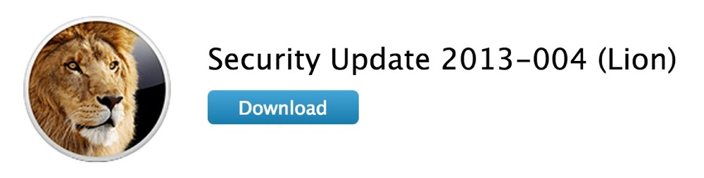 Apple、OS X Lionユーザー向けに「Security Update 2013-004 (Lion)」リリース