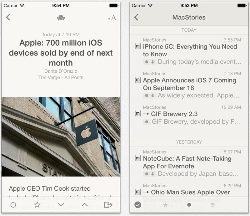 Silvio Rizzi、iOS向け人気RSSリーダー「Reeder 2」リリース