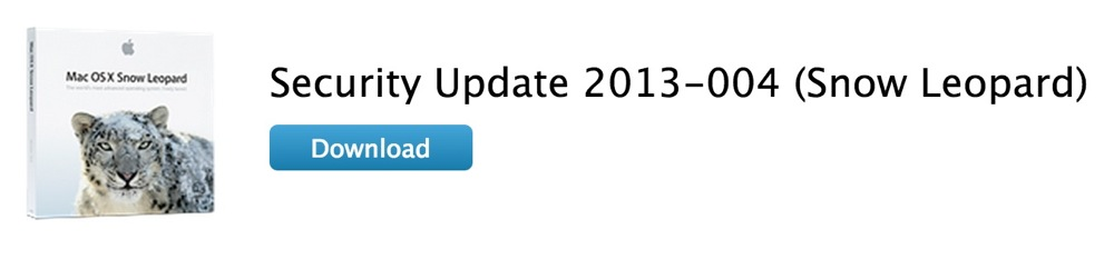 Apple、Snow Leopardユーザー向けに「Safari 5.1.10 for Snow Leopard」「Security Update 2013-004 (Snow Leopard)」リリース