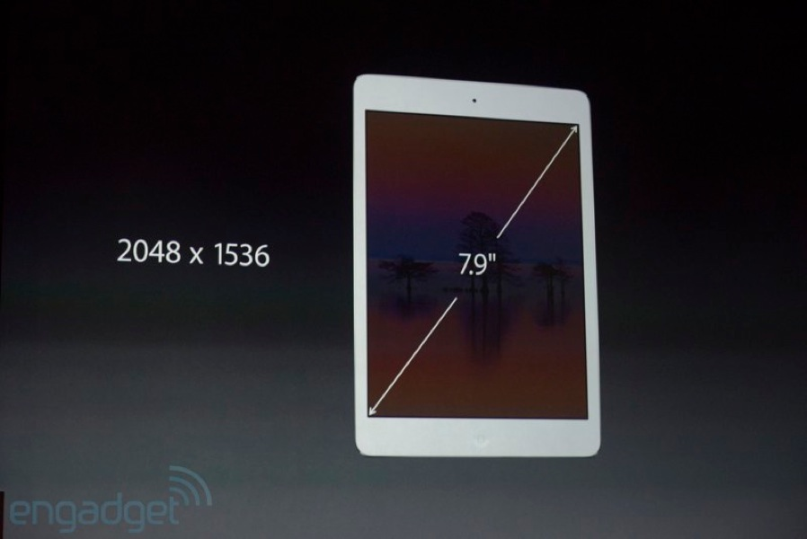 Apple、Retinaディスプレイを搭載した「iPad mini (第2世代)」を発表