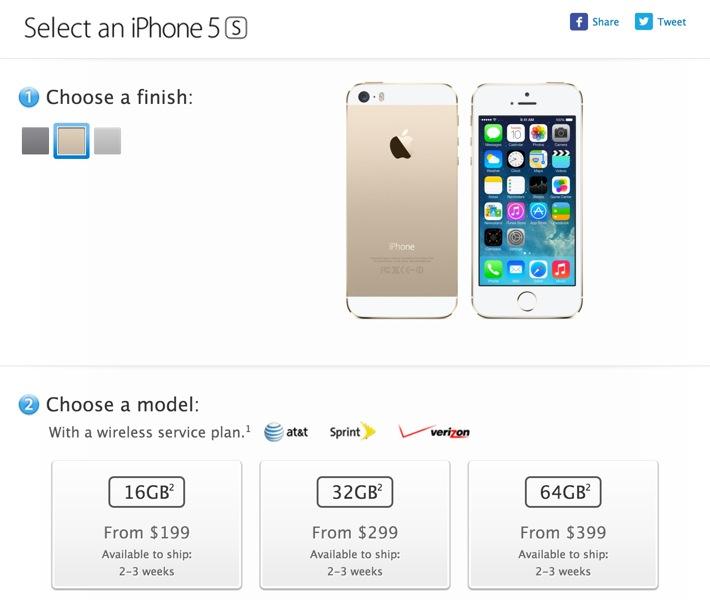 Appleonlineusiphone5s