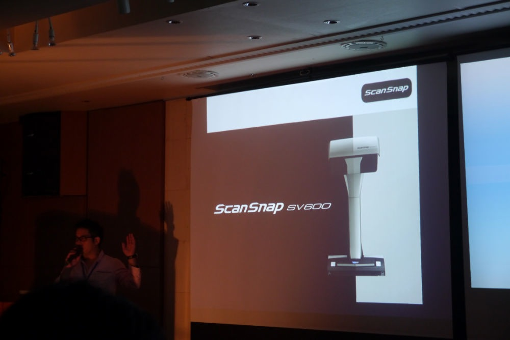 AUGM 東京 2013:PFU、「Scan Snap SV 600」「ScanSnap iX500」を紹介