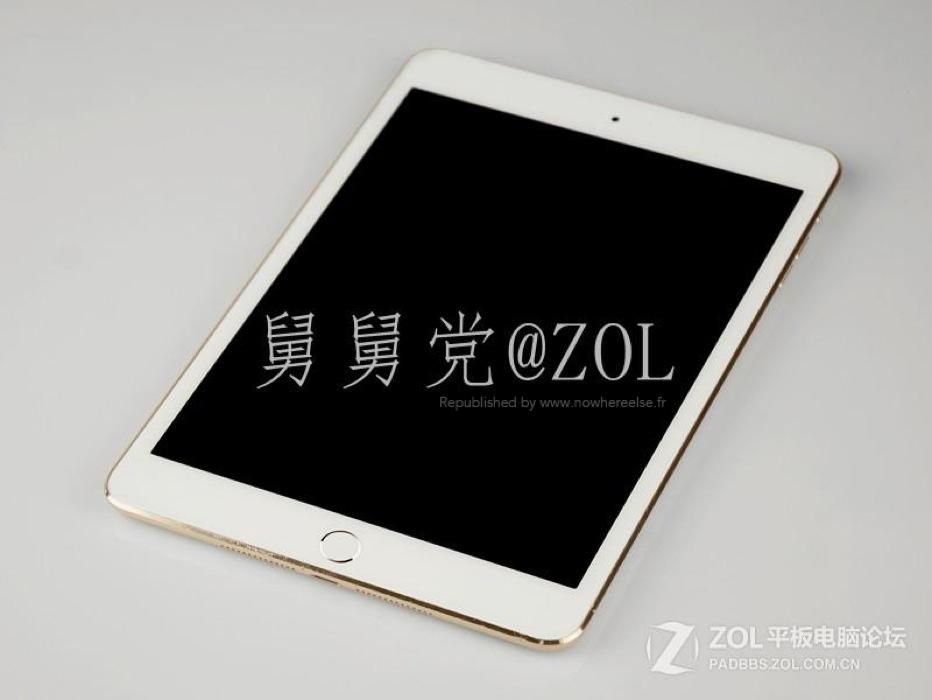 「Touch ID」を搭載した「iPad mini (第2世代)」のリーク画像!?