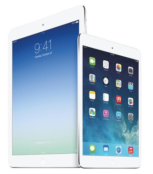 NTTドコモ、6月10日から「iPad Air」「iPad mini Retinaディスプレイモデル」の提供を開始