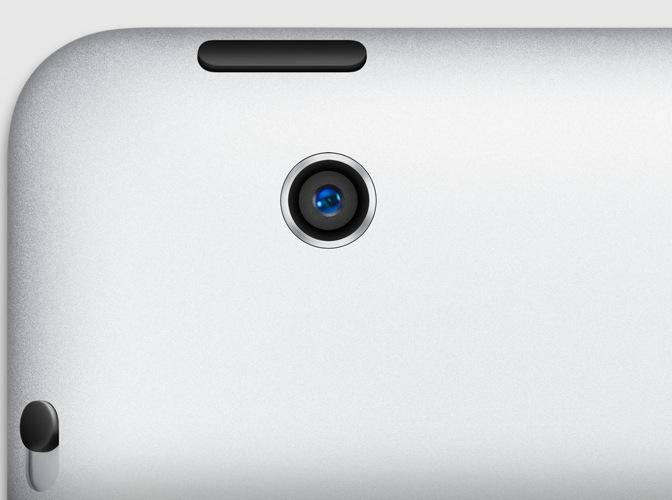 「iPad(第5世代)」「iPad mini(第2世代)」は8メガピクセルのiSightカメラを搭載!?