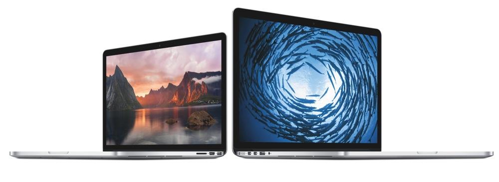 15インチ「MacBook Pro Retinaディスプレイモデル (Mid 2014)」のエントリーモデルのベンチマークが公開される