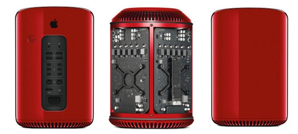 Jony Ive氏とMarc Newson氏がデザインした「MacPro」(PRODUCT)RED版がチャリティーオークションに出品へ