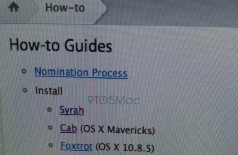 「OS X 10.10」のコードネームが「Syrah」である証拠が見つかる