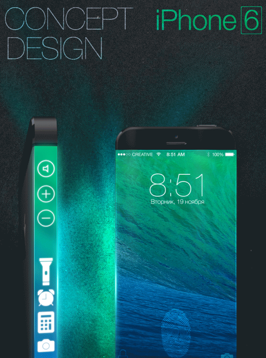 Apple iPhone 6 concept jpg