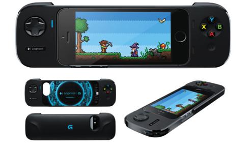 Logicool、iOS 7対応バッテリー付きゲーミングコントローラ「G550パワーシェル コントローラ+バッテリー」を発表