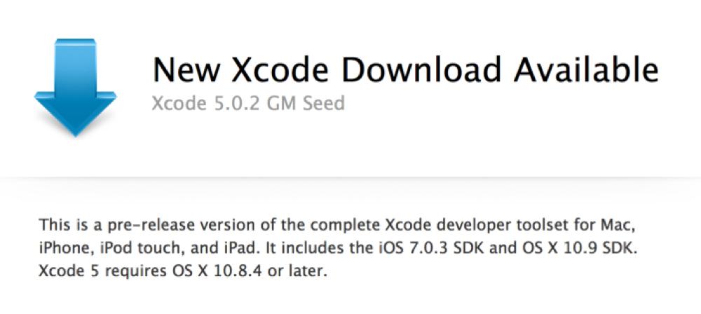 Apple、デベロッパー向けに「Xcode 5.0.2」GM版リリース