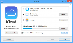 Apple、「iCloud Control Panel 3.1 for Windows」リリース