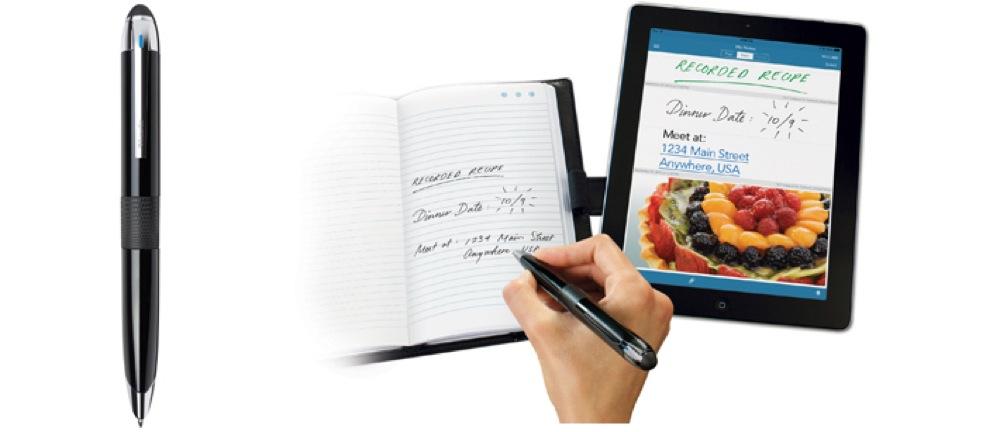 ソフトバンクBB、手書きメモをiPhone・iPadに瞬時に表示できるデジタルボールペン「Livescribe 3 smartpen」の販売を開始