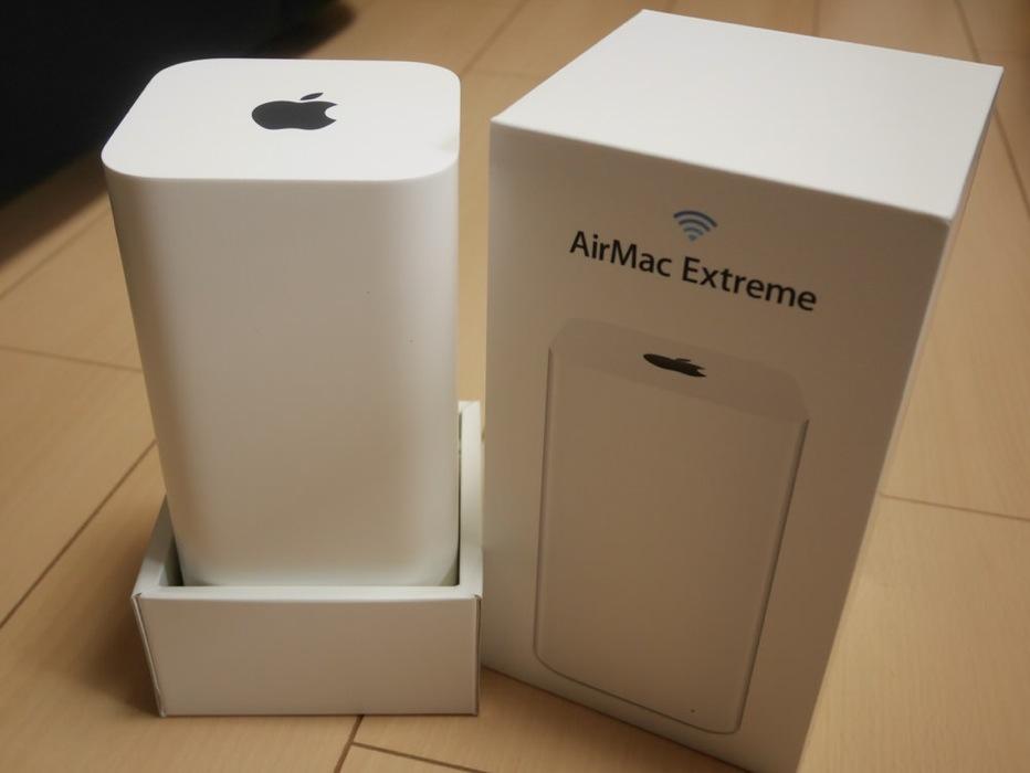 Apple、AirMacなどの無線ルーター開発部門を廃止か!?