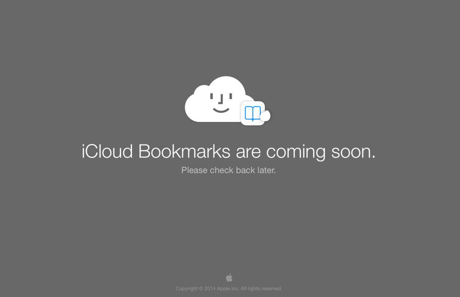 Icloudbookmark