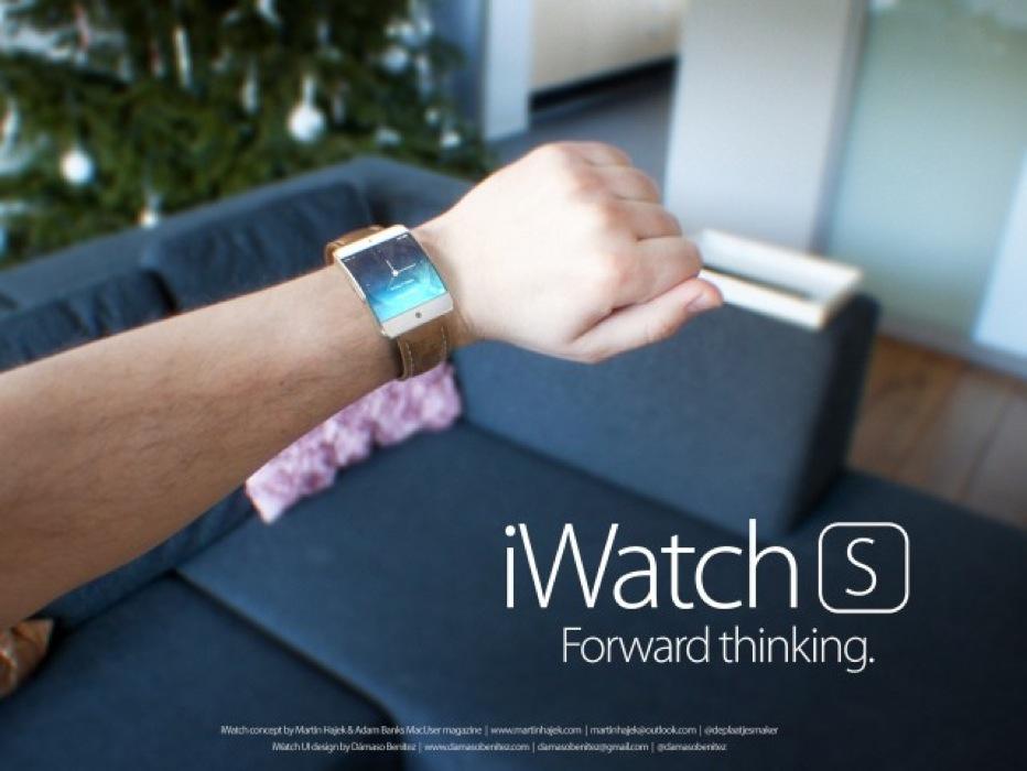 Martin Hajek氏による、「iWatch S」「iWatch C」のコンセプトデザイン