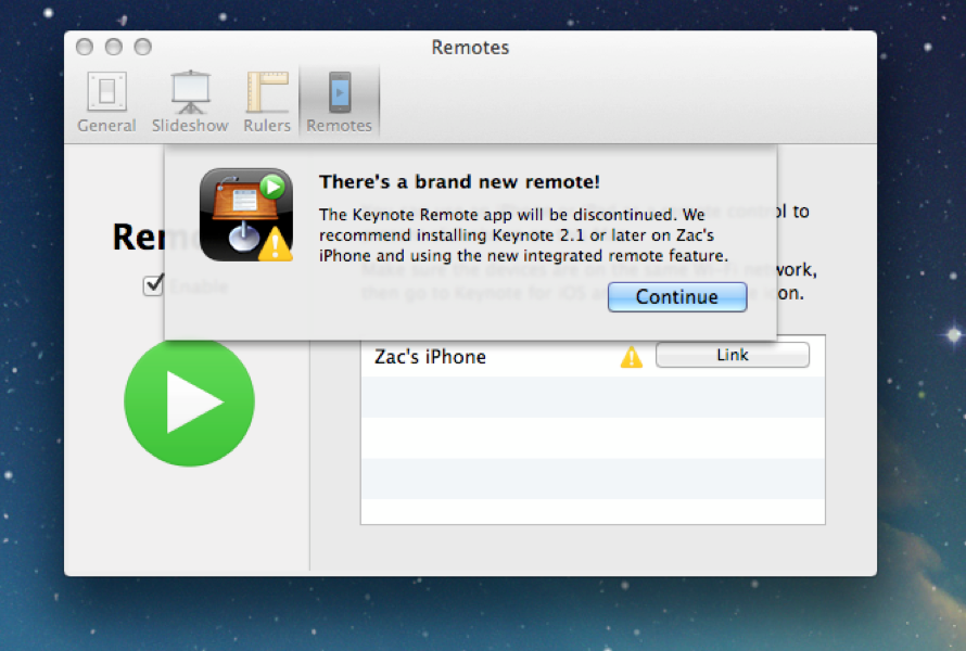 Keynoteremote