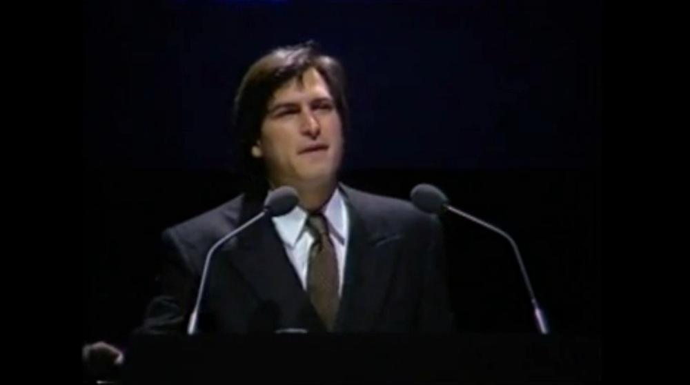 1984年にボストンコンピュータ学会でSteve Jobs氏が行ったMacintoshのデモ