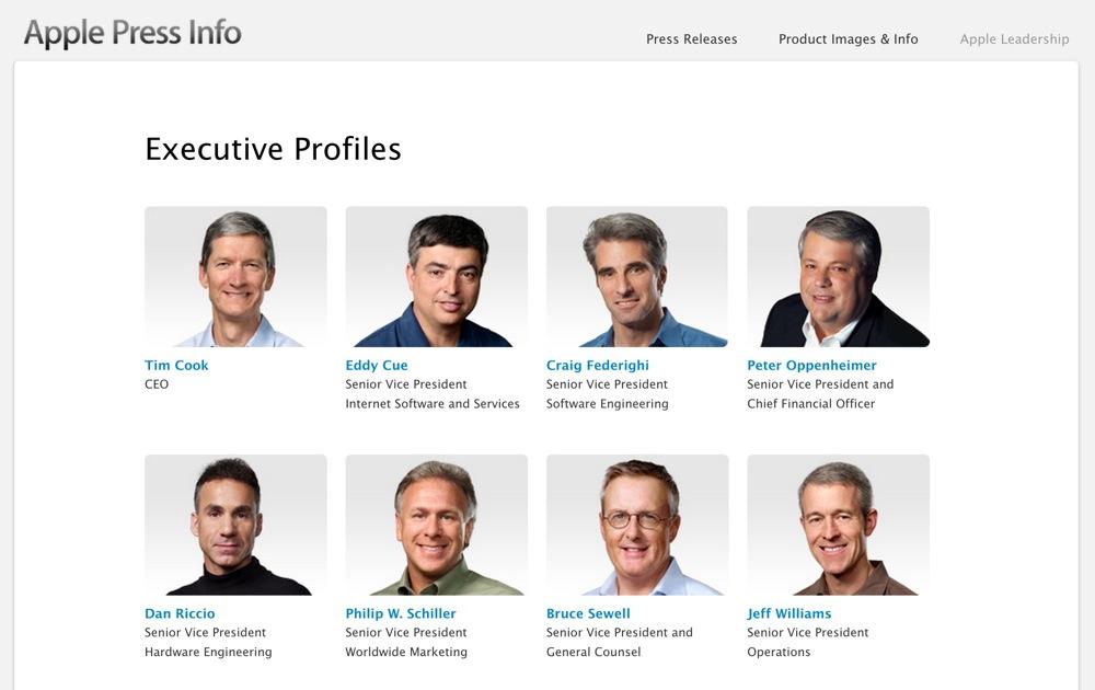 【更新:復活】Appleの役員リストからJonathan Ive氏の名前が消える
