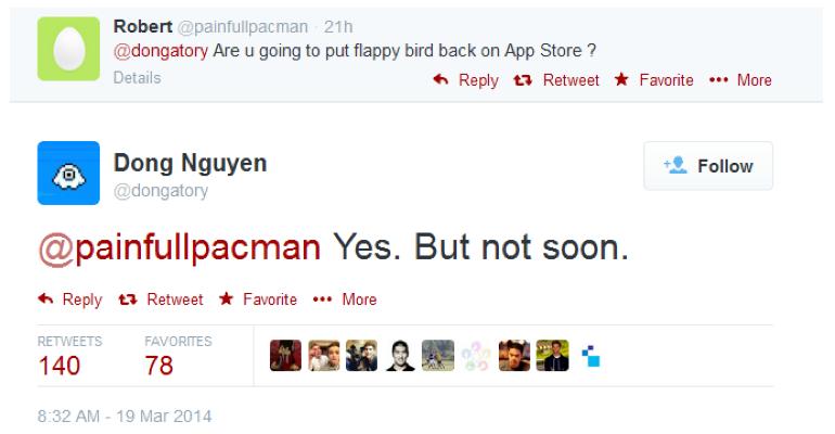 iOSアプリ「Flappy Bird」がApp Storeで配信再開を予定、開発者が明らかに