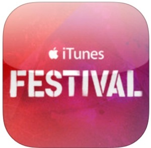 Apple、デザインを一新したiOSアプリ「iTunes Festival 5.0」リリース