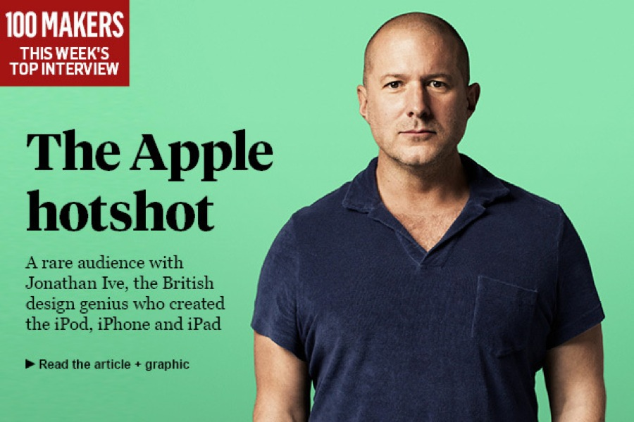 Jonathan Ive氏、半透明のiMacの色を学ぶため、お菓子メーカーで働いたことを明かす