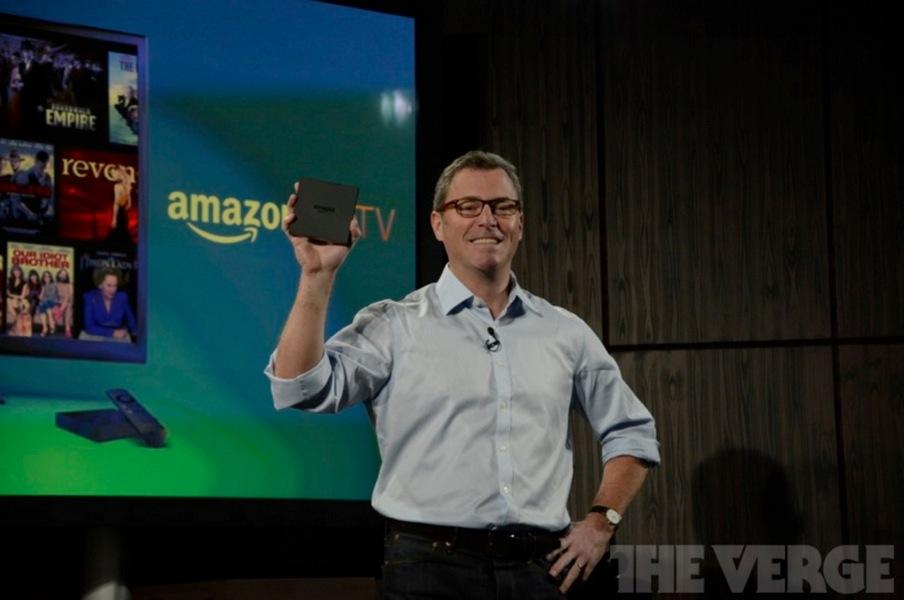 Amazon、セットトップボックス「Amazon Fire TV」を発表