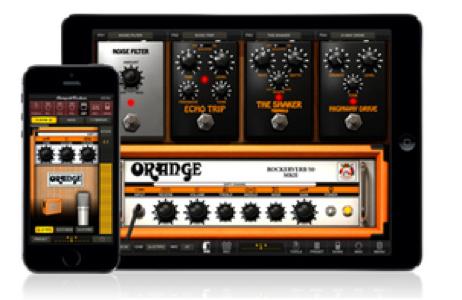 IK Multimedia、iOS向けギター/ベース・アンプ&エフェクト・モデリング・アプリ「AmpliTube Orange」リリース