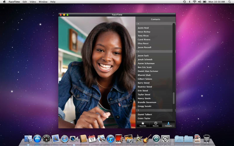 Apple、「OS X Snow Leopard」向けに「FaceTime 1.0.5」リリース