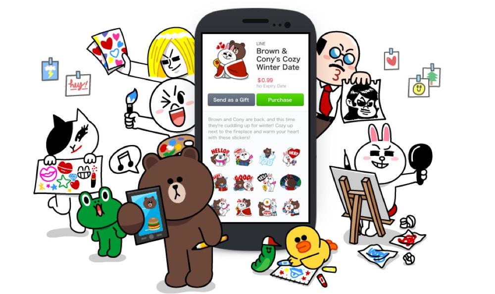 LINE、「LINE Creators Market」の販売開始1ヶ月のスタンプ販売総額が1億5千万円を突破と発表