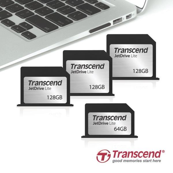 トランセンド、MacBook向けフラッシュストレージカード「JetDrive Lite」を発売