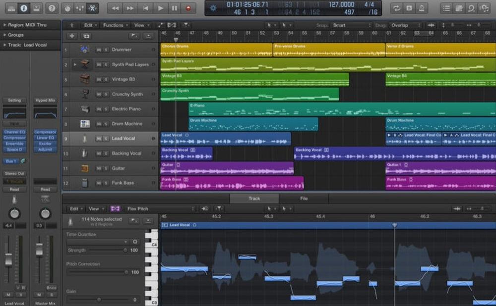Apple、12コア「Mac Pro」のサポートを含むいくつかの修正を行ったMac向けアプリ「Logic Pro X 10.0.7」リリース