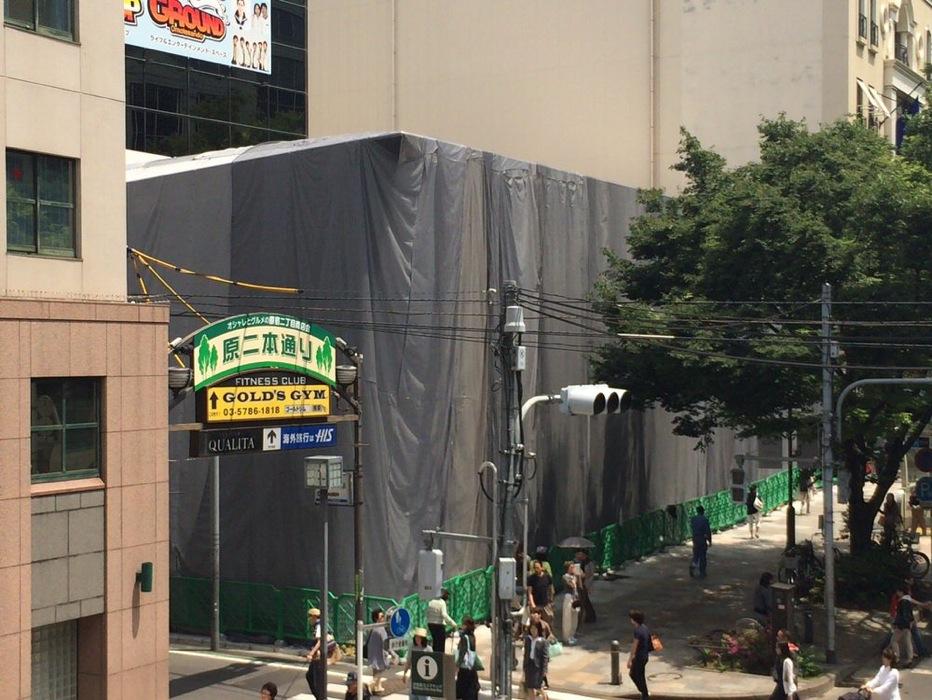 「Apple Store 表参道」の工事期間は2014年6月30日まで!?