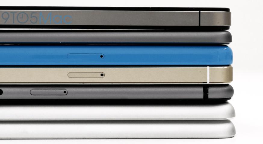 4.7インチ「iPhone 6」のモックアップと「iPad Air」「iPad mini」など様々なiOSデバイスと比較した動画