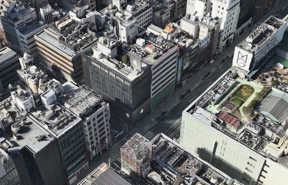 Apple、日本では初めて東京がマップアプリの3D Flyoverに対応
