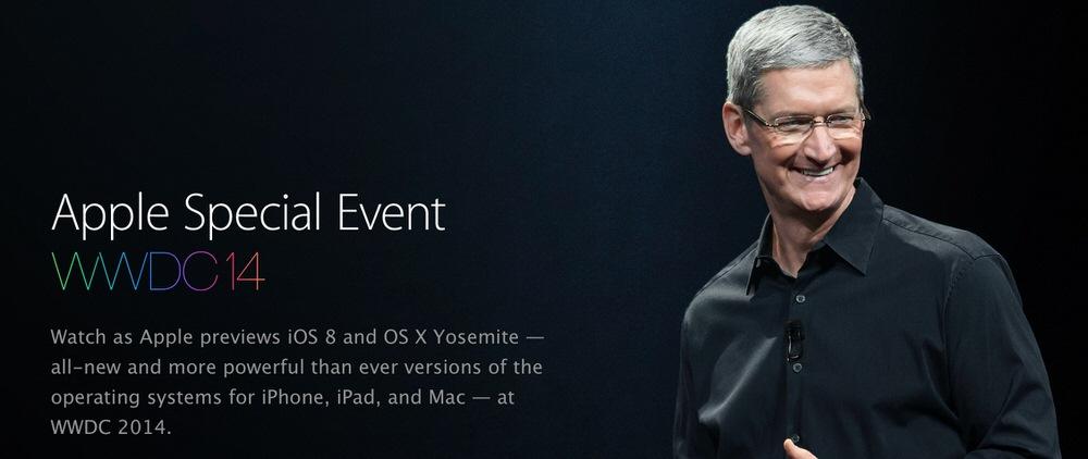 Apple、公式YouTubeチャンネルでも「WWDC 2014」の基調講演を公開