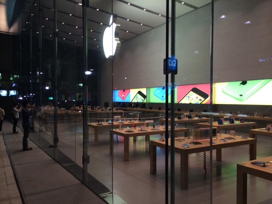「Apple Store, Omotesando」オープン前夜レポート