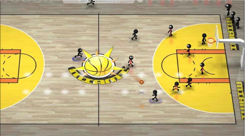 棒人間シリーズ「Stickman Basketball」が200円 → 100円に値下げ中!【2014年6月12日版】アプリ新作・値下げ情報
