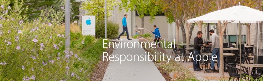 Apple、環境面における改善の進捗を報告する「2014年環境責任報告書」を公開